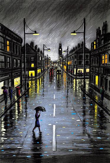 Rain on Duke Street