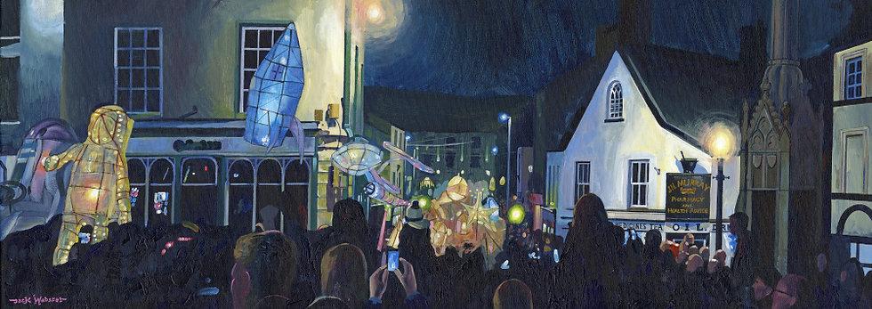 In The Crowd, Ulverston Lantern Procession