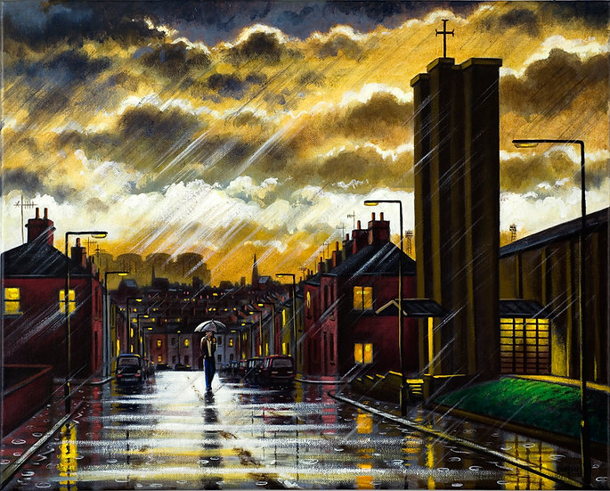 Harrogate Street Rain