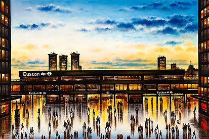 Euston Station Oil 2020 51 x 76 cm (20 x 30 inch.jpg