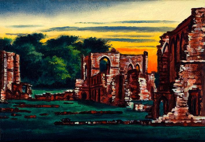 Furness Abbey Twilight