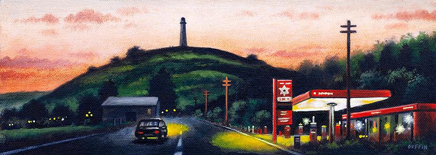 Ulverston Dusk - Driving Home