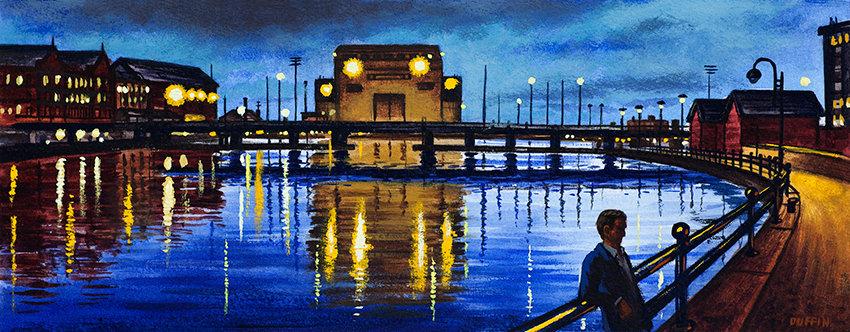 Buccleuch Dock Panorama