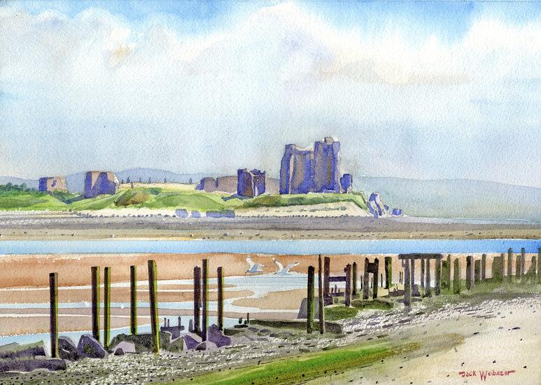 Piel Castle From South Walney