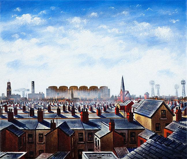 Barrow Skyline - Summer