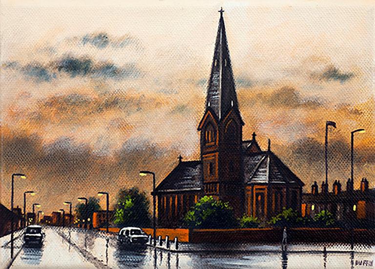 St James's Church - After Rain