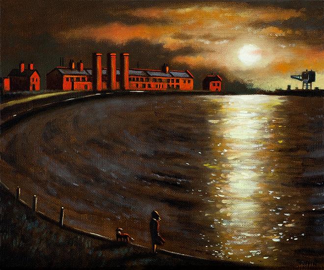Salthouse Mills Sunset