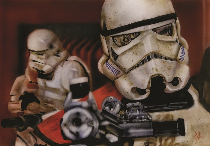 Stormtroopers at Docking Bay 94 (Star Wars)