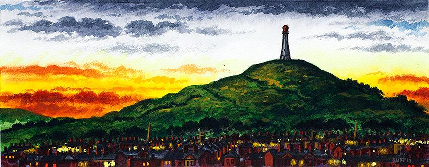 The Hoad, Ulverston Panorama