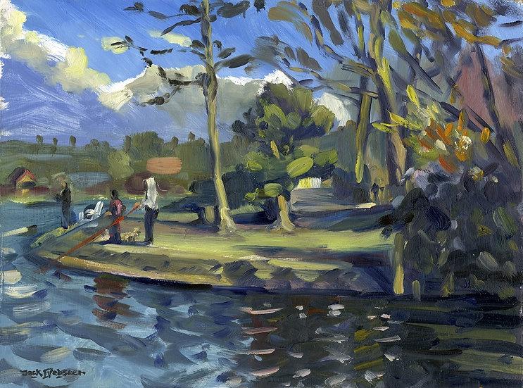 Barrow Park, Water Study