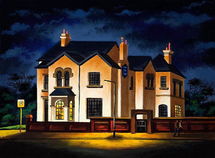 Arlington House by Night
