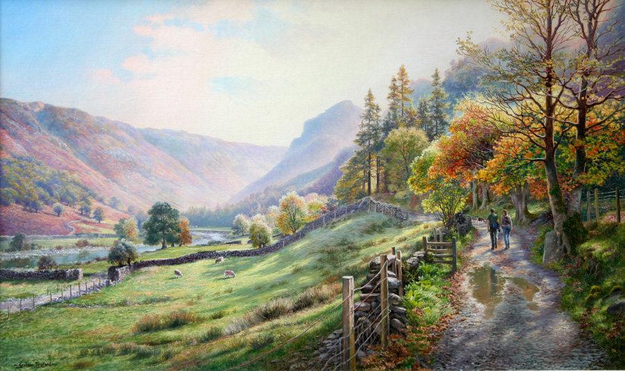 Borrowdale Bridleway to Langstrath