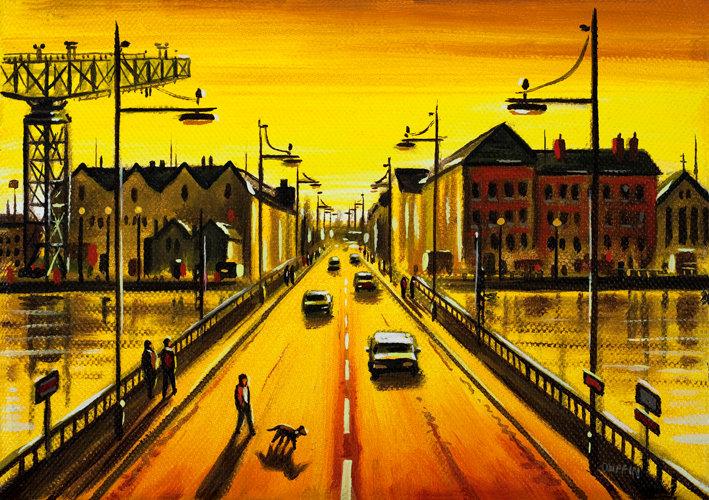 Michaelson Bridge Road Sunset