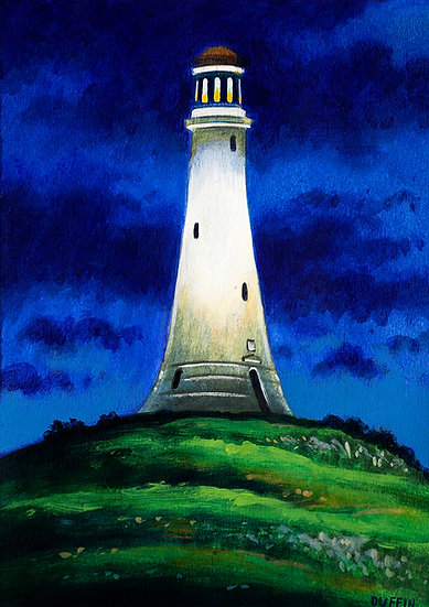 The Hoad at Night, Ulverston