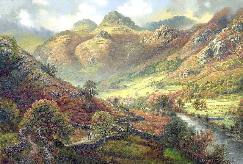 The Cumbria Way, Through Langdale