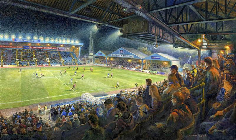 Carlisle - Night Match at Brunton Park