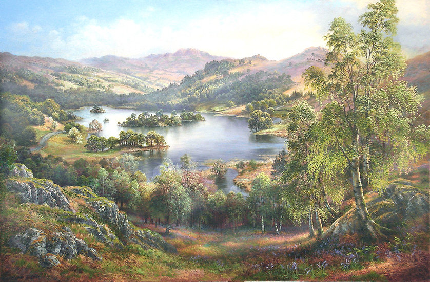 Rydal Water from White Moss Common