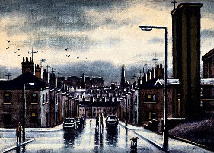 After Rain on Harrogate Street