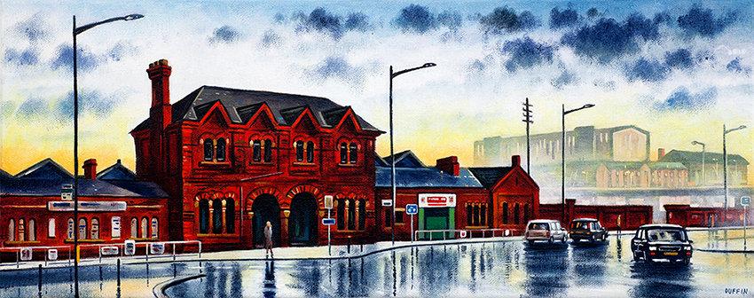 Railwaymen's Club and Old Barrow Station