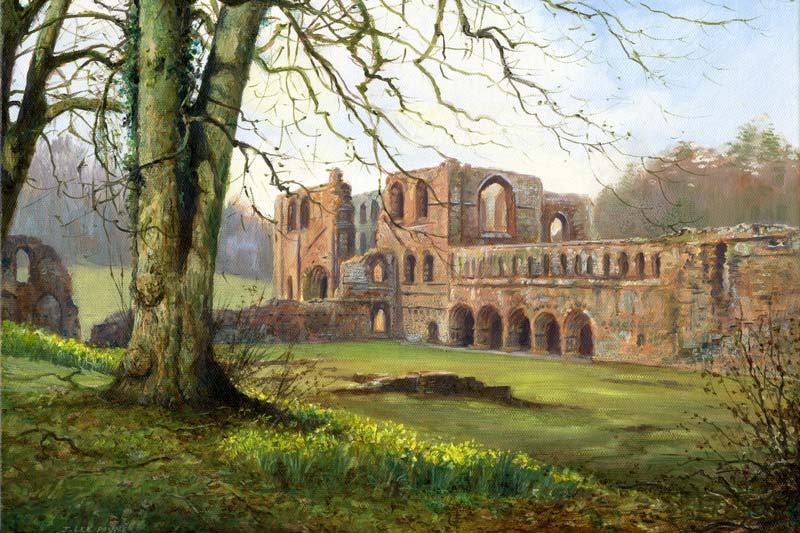 Springtime, Furness Abbey