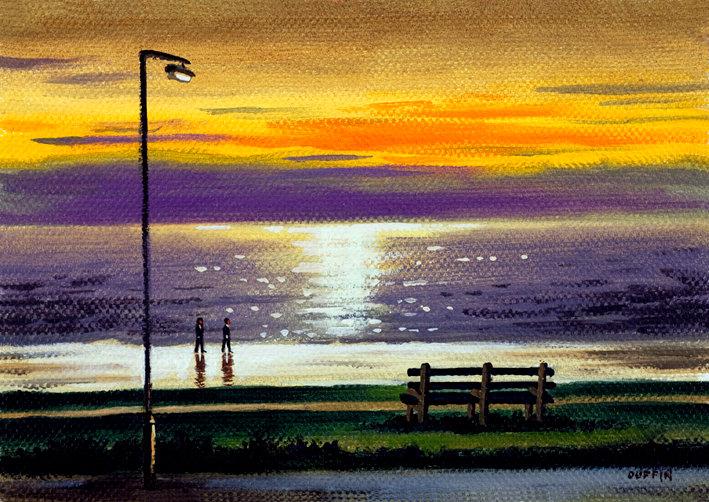 Biggar Bank Sunset