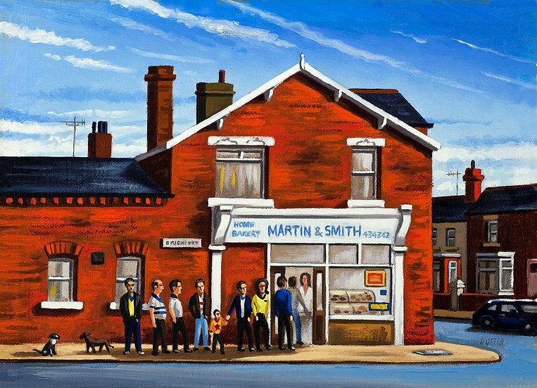 Brighton Street Pie Shop - Saturday Morning