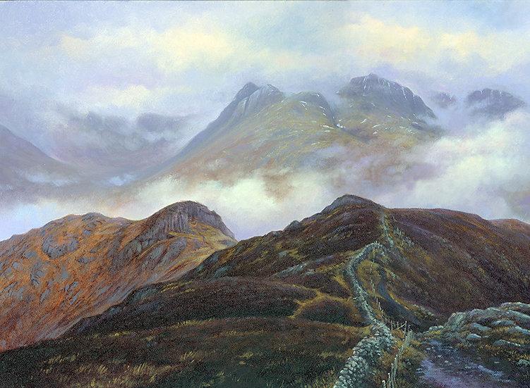 Langdal Pikes from Lingmoor Fell