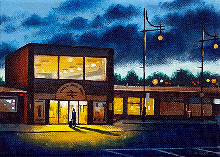Barrow Station - Night
