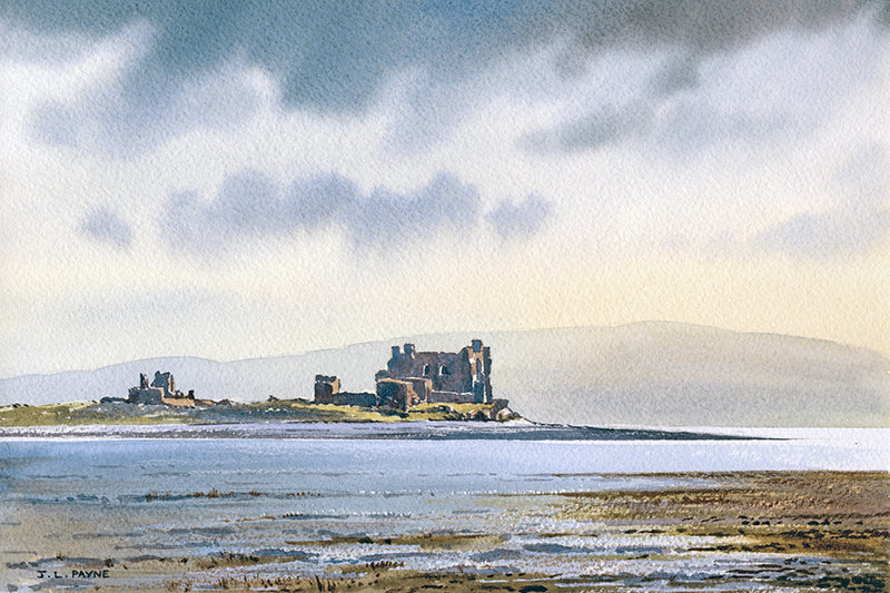 Across the Marshes, Piel Castle