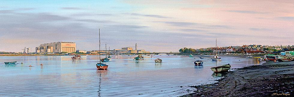 Calm Evening, Walney Channel