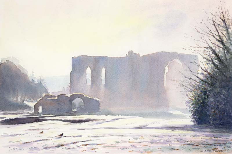 Frosty Morning, Furness Abbey