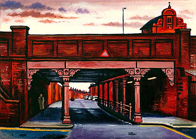 Marsh Street Bridge Evening