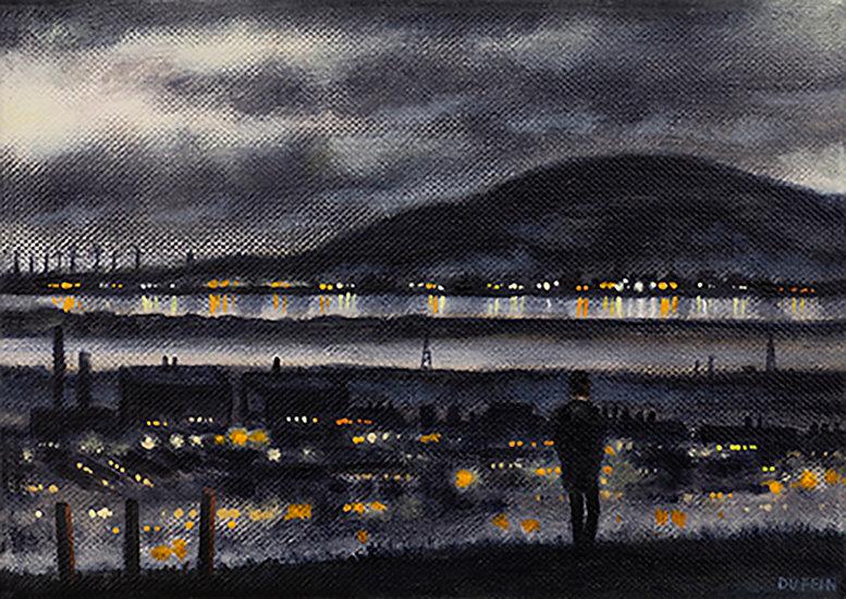 Millom and Black Combe Night Lights