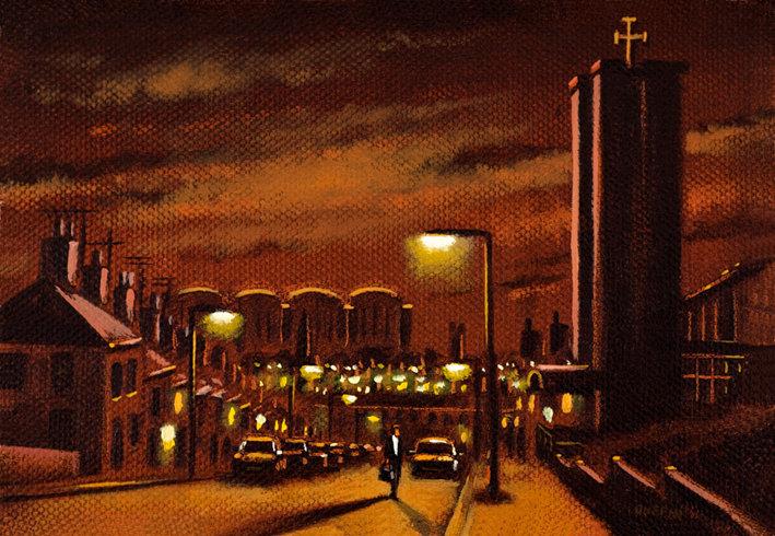 Harrogate Street Night