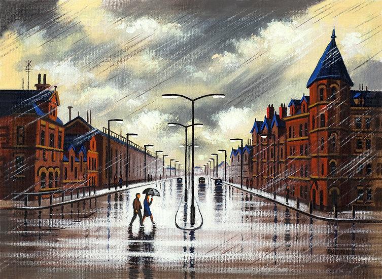 Rain on Michaelson Road