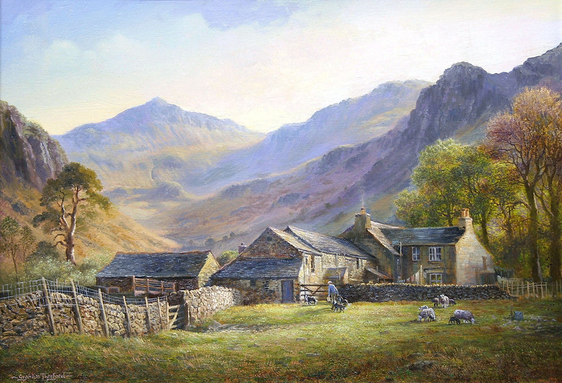 Upper Eskdale at Brotherilkeld