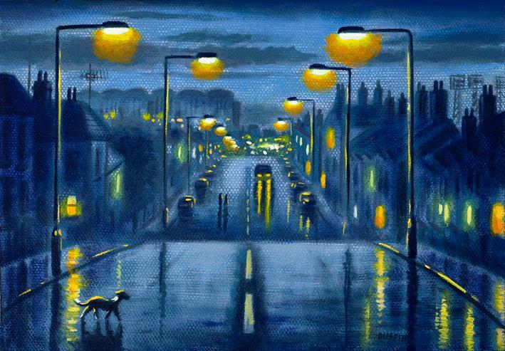 Oxford Street Lights