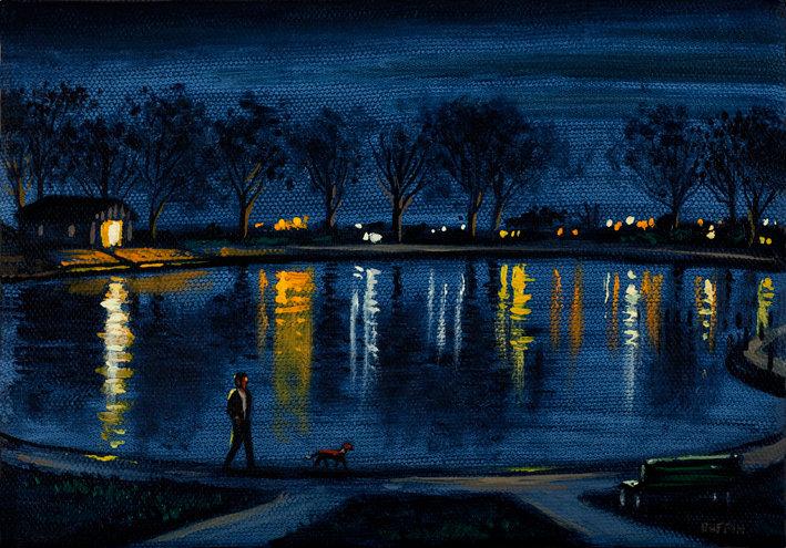 Barrow Park Lake