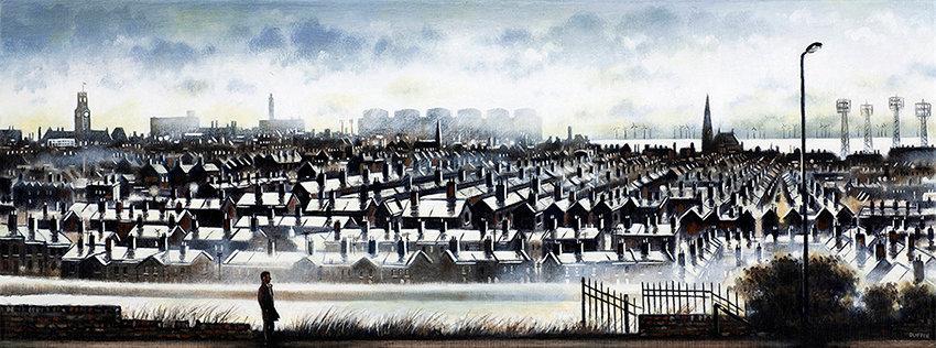 Barrow Skyline from Victoria Fields
