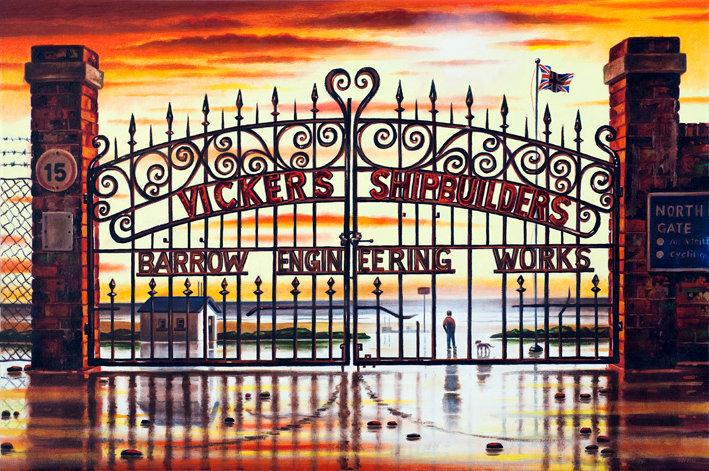 Shipyard Gates 1