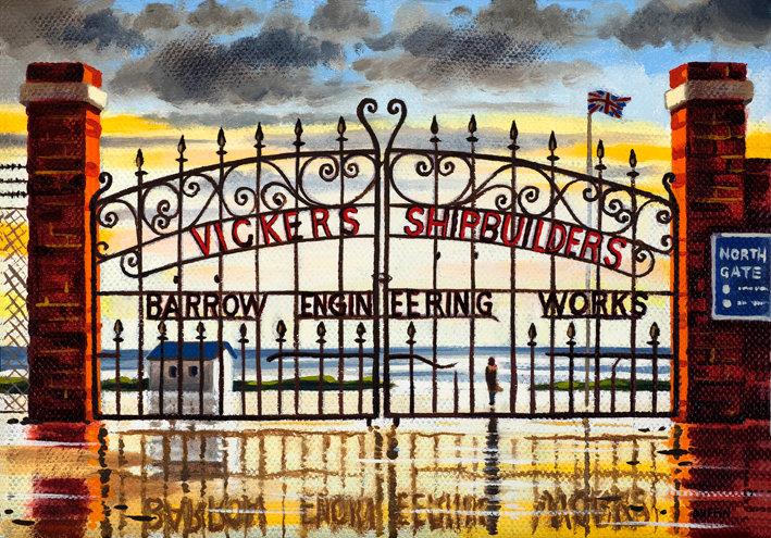 Shipyard Gates