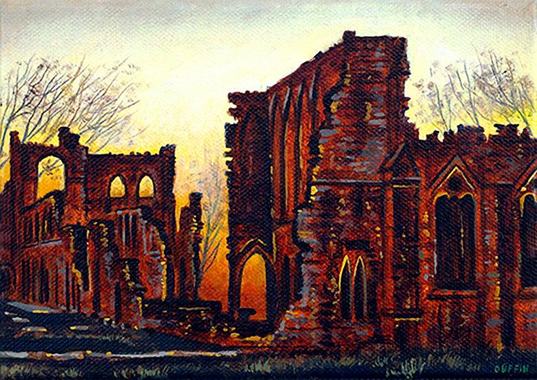 Furness Abbey Dusk