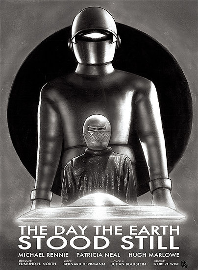 The Day The Earth Stood Still (b/w)