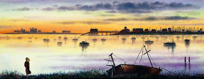 Roa Island Sundown