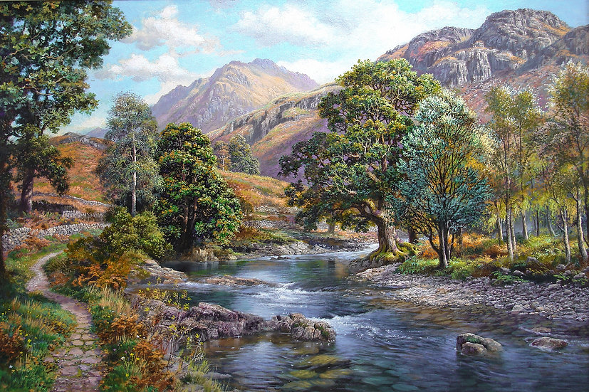 River Walk to Harter Fell