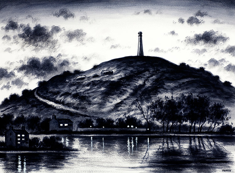 The Hoad from Ulverston Canal Head