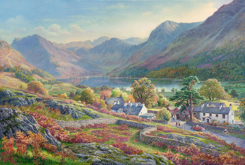 Above the Village, Buttermere