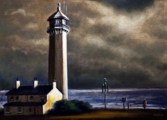 Walney Lighthouse Winter