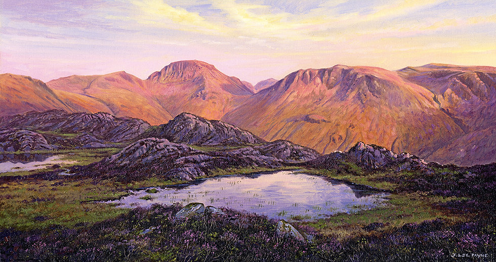 Great Gable and Kirk Fell From Haystacks