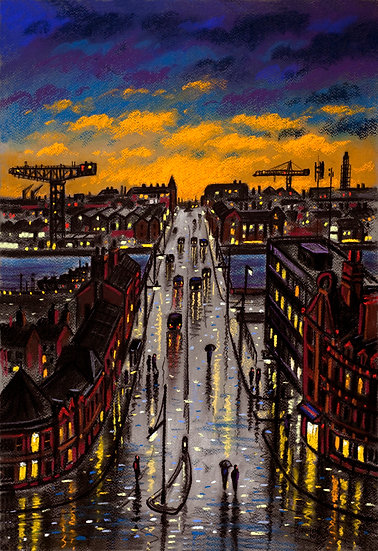 Rainy Night - Michaelson Road Bridge